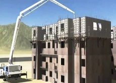 High rise concrete construction using aluminum concrete formwork