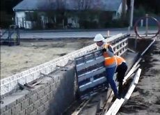 Concrete Wall Brick Construction